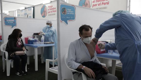 El sábado 10 y domingo 11 de julio se llevó a cabo la primera vacunatón en Lima y Callao. Foto: Jessica Vicente/@photo.gec
