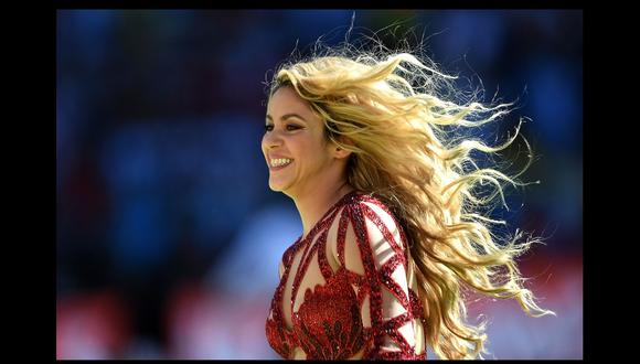 Shakira celebra el quinto aniversario de su disco homónimo (Foto: AFP)