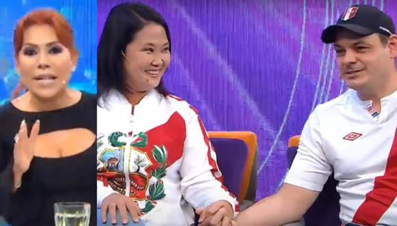 Magaly Medina le realizó una entrevista a Keiko Fujimori previo a la Segunda Vuelta de las Elecciones 2021