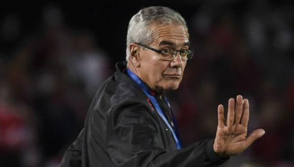 Gregorio Pérez dirigió el 2018 a Independiente Santa Fe. (Foto: AFP)
