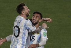 Argentina venció 3-0 a Uruguay por Eliminatorias 2022
