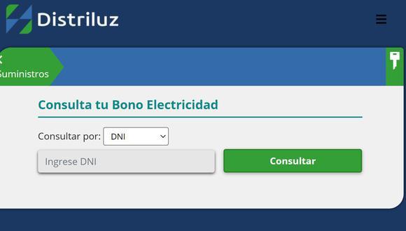 Consulta Aquí si eres beneficiario Bono Electricidad Hidrandina