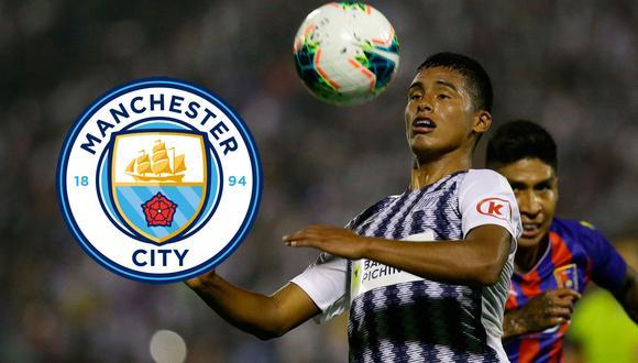 Kluiverth Aguilar fue anunciado en medios internacionales como fichaje del Manchester City. (Foto: Archivo GEC)