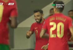 Portugal vs. Luxemburgo: Bruno Fernandes puso el 3-0 de los 'Lusos' en Eliminatorias | VIDEO