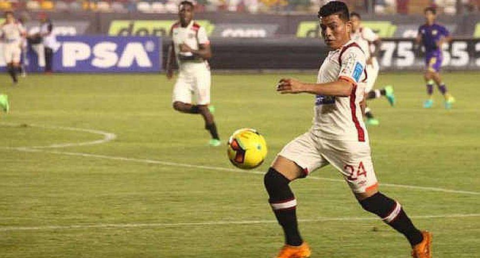 Javier Núñez y su tercer gol con la camiseta crema