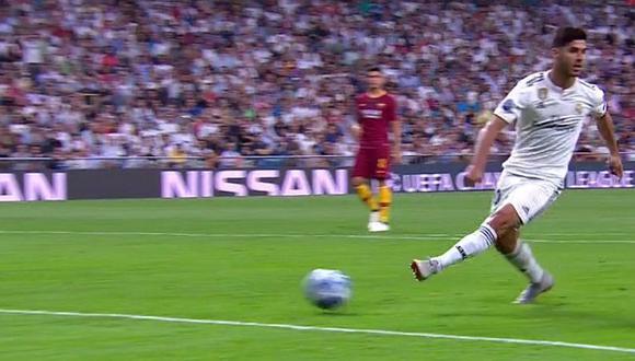 El 'papelón' de Asensio tras querer imitar jugada de Ronaldinho [VIDEO]