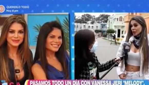 Vanessa Jerí aseguró que no tiene ningún problema con Sandra Arana. (Foto: Captura de video)
