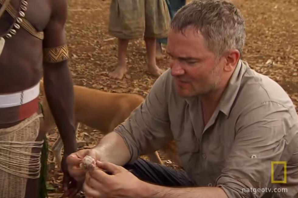 El explorador causó sensación en la red social por la experiencia que tuvo. (YouTube: National Geographic)