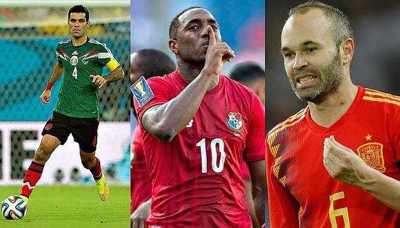 Iniesta y los 6 jugadores se retiran de sus selecciones tras Rusia 2018