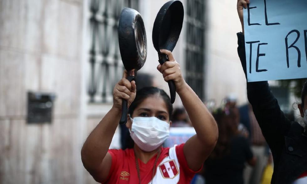 """Los manifestantes aseguran que hubo un """"fraude electoral"""". (Jesús Saucedo/ GEC)"""