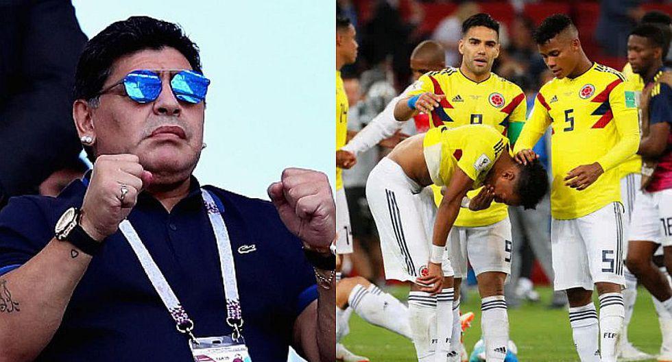 """Diego Maradona: """"Lo de Colombia ante Inglaterra fue un robo"""""""