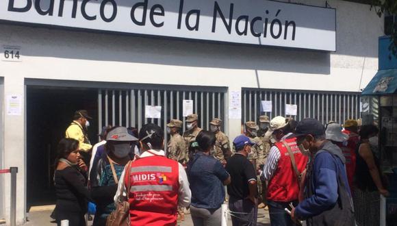 El nuevo bono de 600 soles se entregará a 4,2 millones de familias afectadas económicamente por la emergencia sanitaria (Foto: Andina)