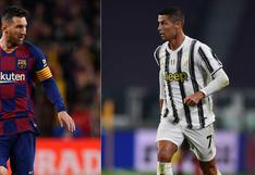 UEFA confirmó las fechas para los partidos entre Barcelona de Messi y Juventus de Cristiano