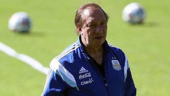 Bilardo fue entrenador de la Selección Argentina entre 1983 y 1990. (Foto: AFP)