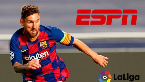 ESPN, en vivo y en directo te trae el mejor fútbol del mundo. La señal internacional esta vez te ofrece la mejor programación para que no te pierdas LaLiga Santander con Leo Messi hoy ante el Celta de Vigo, En Directo