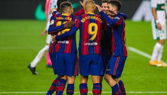 Barcelona vs. Sevilla: se ven las caras en el Ramón Sánchez Pizjuán por la jornada 25 de LaLiga. (Foto: FC Barcelona)