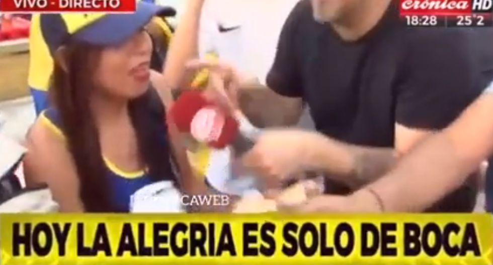 Peruana hincha de Boca Juniors pide a gritos fichaje de Paolo Guerrero para ganar la Copa [VIDEO]