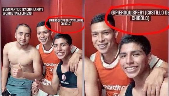 """Gerson Barreto llamó """"Castillo de chibolo"""" al juvenil de Universitario Piero Quispe."""