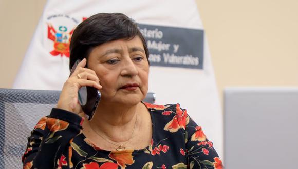 La ministra Silvia Loli también precisó que se maneja la cifra de 500 mujeres desaparecidas en el país. (Twitter / @MimpPeru)