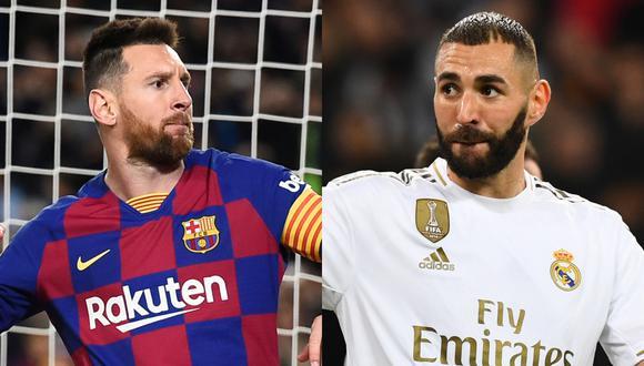 Real Madrid y Barcelona pueden chocar en la gran final de la Supercopa de España   Fotos: AFP