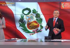 Pedro Tenorio se confundió y llamó con otro nombre a Lorena Álvarez [VIDEO]