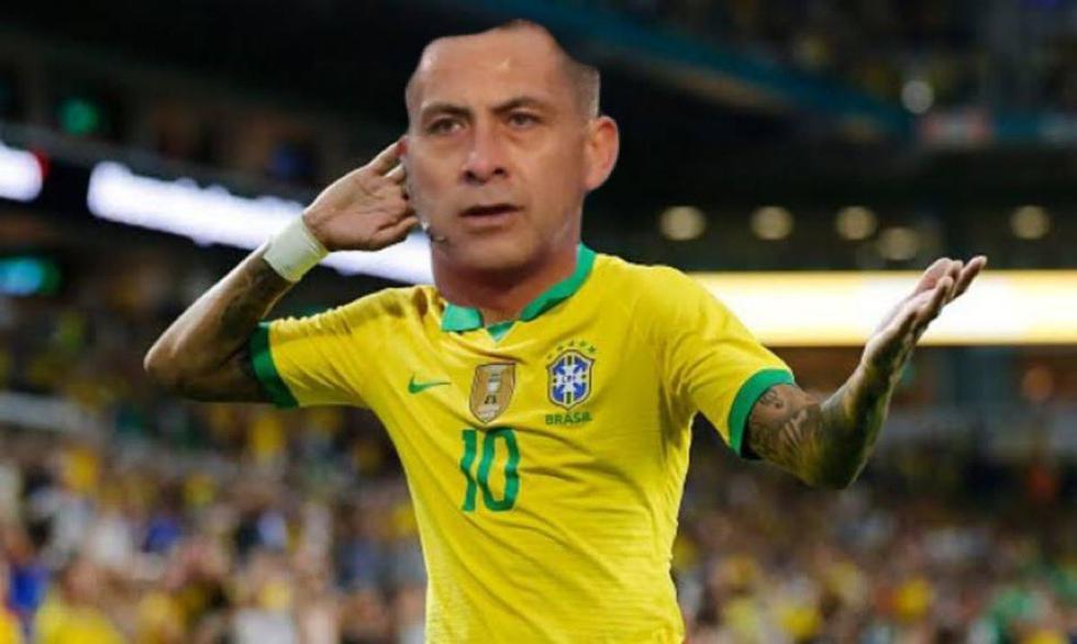 Perú vs. Brasil (memes)