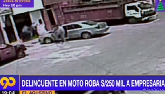 El caso es investigado por la Dirincri debido al monto del dinero robado. (Latina)