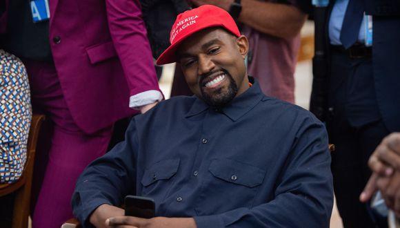 Kanye West anuncia que postulará a la presidencia de los Estados Unidos. (Foto: AFP)