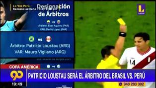 Perú vs. Brasil: Patricio Loustau arbitrará en el debut de la ´Blanquirroja´