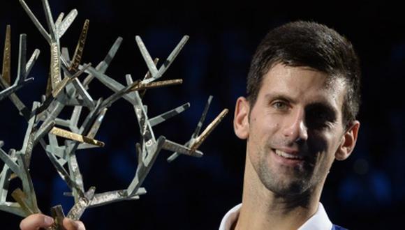 Novak Djokovic derrotó a Andy Murray y ganó el Master París [VIDEO]
