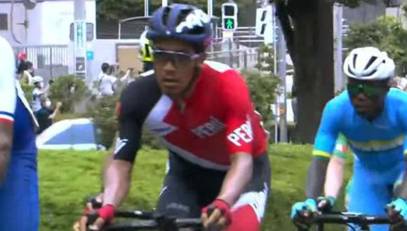 Royner Navarro abandonó la competencia en el kilómetro 162. (Captura: Marca Claro)