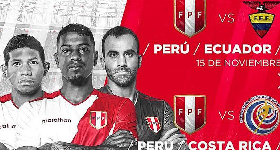 FPF anuncia oficialmente amistosos con Ecuador y Costa Rica