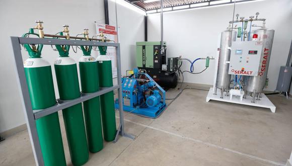 El Minsa detalló que la implementación de dicha planta de oxígeno permitirá fortalecer el tercer nivel de atención de salud ante la probable llegada de una tercera ola del COVID-19. (Foto: Ministerio de Salud)