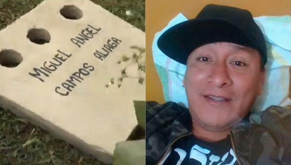 Los restos de Miguel Ángel Campos, 'La Bibi', fueron enterrados en el Camposanto Parques Del Paraíso. (Foto: Captura Latina)