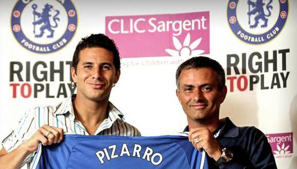 """Claudio Pizarro recuerda mensaje de Mourinho previo a su llegada al Chelsea: """"Claudio te esperamos pronto [VIDEO]"""