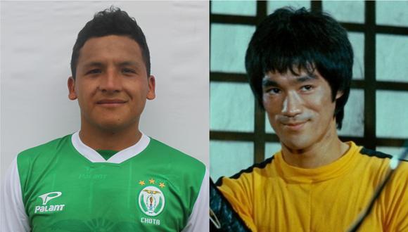 Brucelee Micha Cotrina tiene 22 años y juega en Las Palmas de Chota.