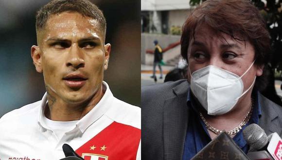 El polémico cantante Ricardo Cisneros le respondió a la mamá de Paolo Guerrero, Doña Peta y recordó el caso del Depredador cuando estaba inhabilitado para jugar la Copa del Mundo. FOTO: Composición