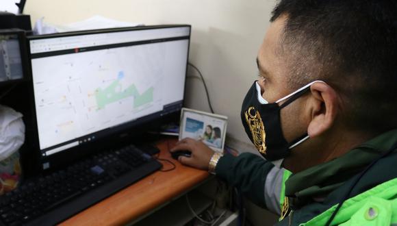 El botón de pánico se instaló en la comisaría del Callao. (Foto: Corte de Justicia del Callao)