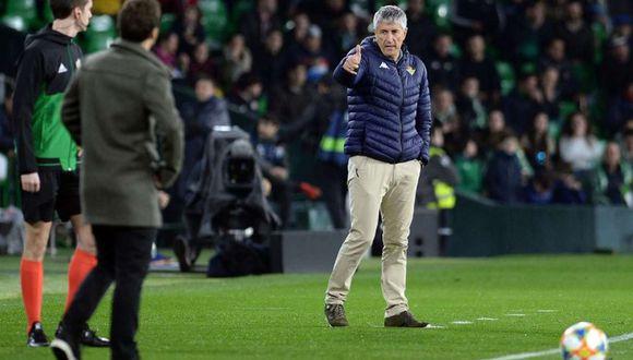 El camino de Quique Setién hasta llegar a ser nuevo entrenador del Barcelona. (Foto: AFP)