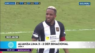 Jefferson Farfán se luce con golazo de tiro libre en el triunfo de Alianza Lima