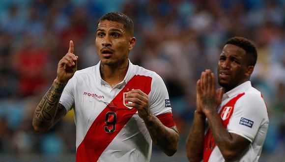 Paolo Guerrero no jugará la Copa América 2021, según reveló la lista de convocados de Gareca. (Foto: AFP)