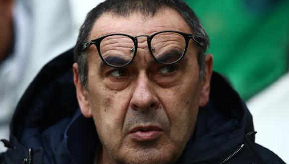 Maurizio Sarri es entrenador de Juventus desde mediados del 2019. (Foto: AFP)