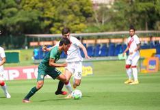 Perú venció 3-1 a Bolivia y logró medalla de bronce en cuadrangular Sub 20 de Brasil