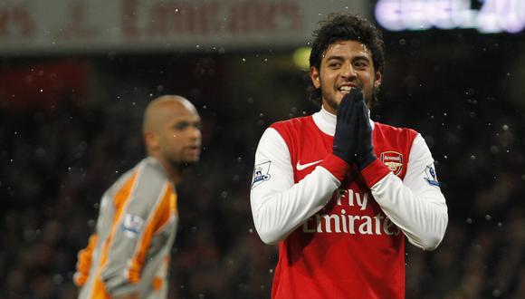 Carlos Vela no 'explotó' en el Arsenal, pero igual se ganó el cariño de los 'Gunners'. (Foto: AFP)