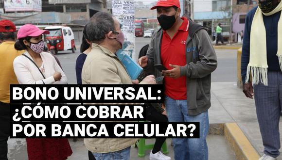 El bono universal es una iniciativa del Gobierno que busca apoyar a 8.4 millones de hogares afectados económicamente por la pandemia del coronavirus.