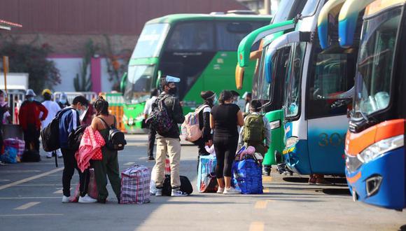Conoce las restricciones en los viajes interprovinciales. Foto: Hugo Curotto / @photo.gec