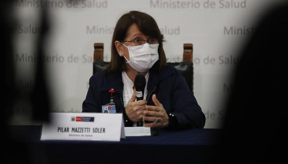 Gobierno está tomando precauciones ante posible segunda ola por COVID-19, señaló Pilar Mazzeti. (Foto: GEC)