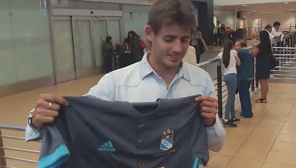 """Omar Merlo ya en Lima: """"Vengo a ayudar a Sporting Cristal a salir campeón"""""""