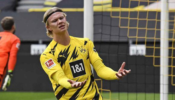 Borussia Dortmund buscará que Erling Haaland se mantenga como su estrella. (Foto: AP)