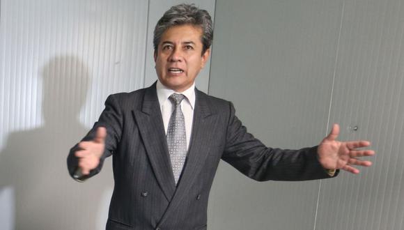 Percy Minaya solo duró mes y medio en el cargo de viceministro de Salud Pública. (Foto: Andina)